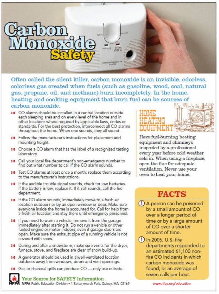 Don't Be a Victim of Carbon Monoxide