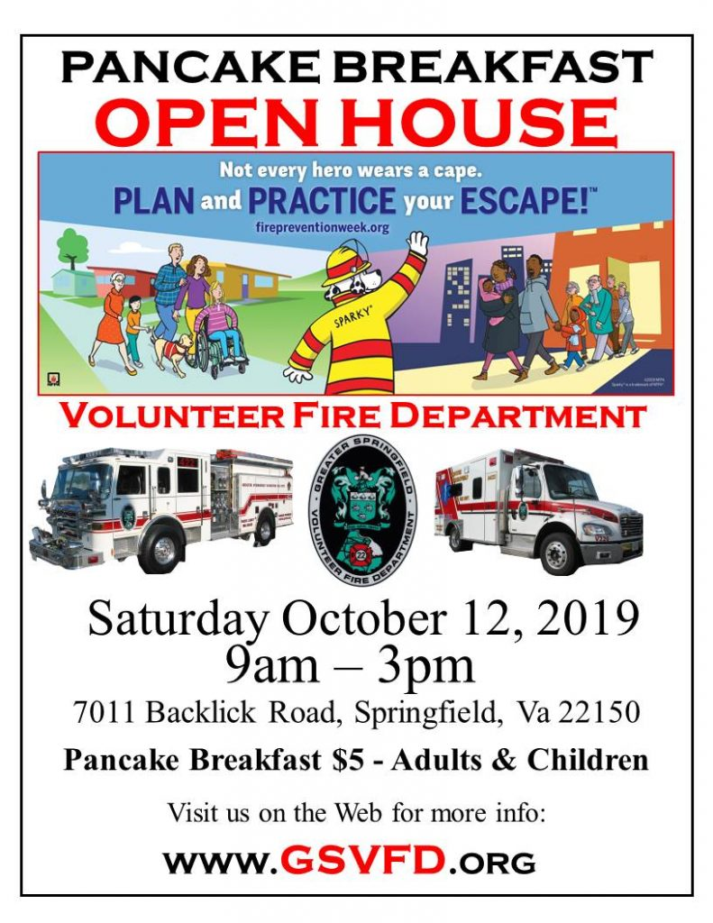 GSVFD Pancake Breakfast and Open House
