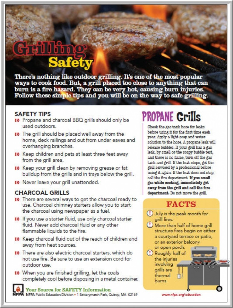 Summer Grilling Safety